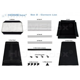 Homebox Modular, set 2