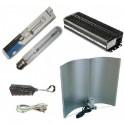 Kit de iluminación 400 W con balastro digital-electrónico Lumatek con regulador y reflector Adjust-a-Wings Stuco.